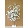 Cherry Blossom Tree w/base White 48""